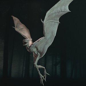 3D Demon Flying