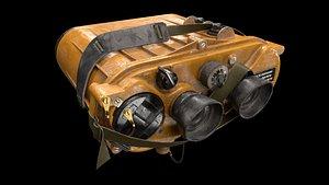 rangefinder binoculars range 3D model