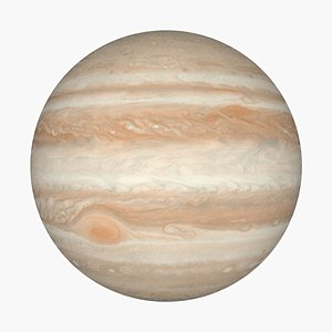 3D Photorealistic Jupiter 16K