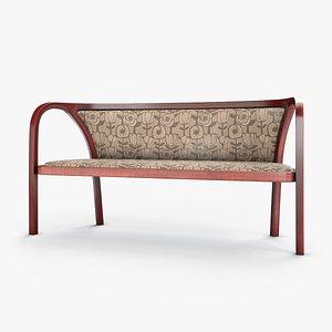 Mahogany Sofa 3D model