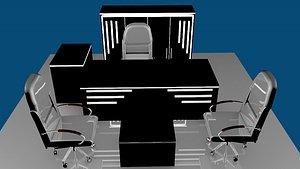 3D OFFICE ROOM SET