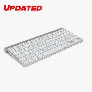 3d c4d wireless apple keyboard