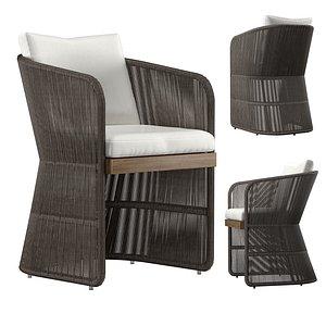 Havana arm chair 3D