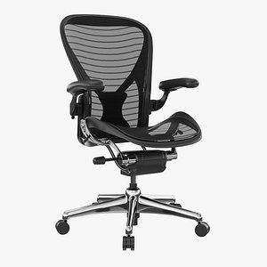 3d model aeron chair