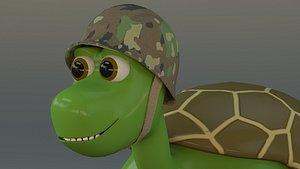 3D tortoise