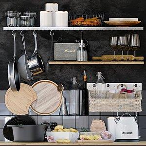 shelves pan 3D model