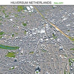 Hilversum Netherlands model