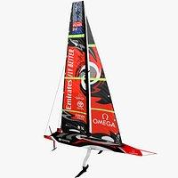Team NZ Americas cup yacht AC75 2021