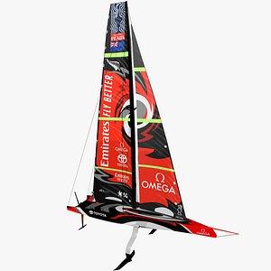 te ac75 yacht model