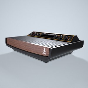 3D Atari 2600 model