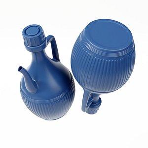 3D jug plastic model