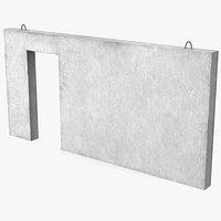 Concrete Panel Door