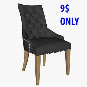 chair ascot 3D model