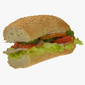 sandwich baguette model