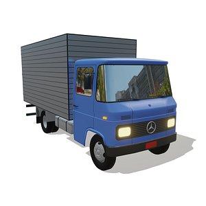 caminhão l 608 3D model