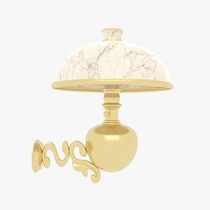 3D Wall Lamp Victorian model