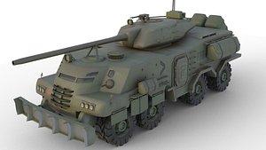 3D model apc tank