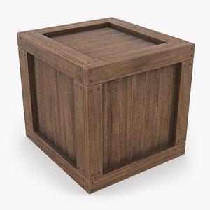 Wooden Crate 04 model