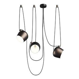 3D 727133 Omega Lightstar chandelier hanging
