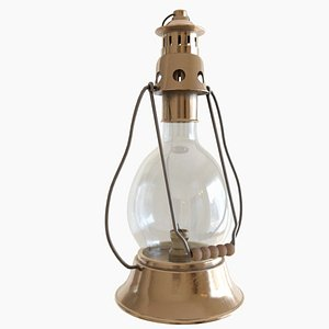 decoration lantern light 3D model