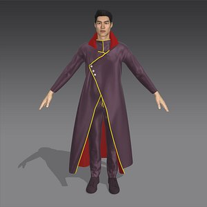 3D Mage Garment