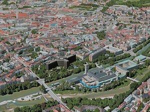 3D munich city