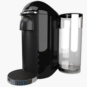 coffee machine nespresso vertuo 3D model