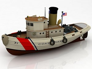 3D U.S. Coast Guard RB-M model