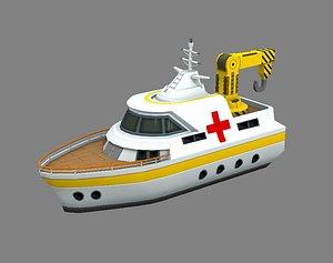 3D rescue ship
