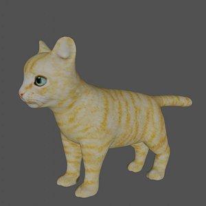 3D Kitten model