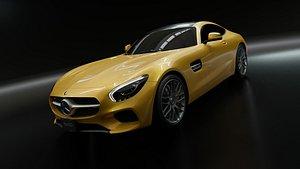 Mercedes AMG GT S 2016 model