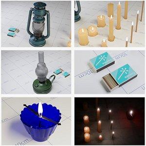 Non Electric Lanterns model