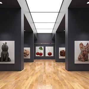 Art Gallery 012 3D model