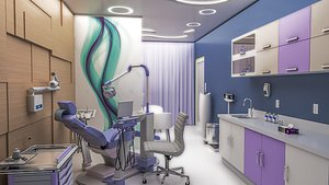 3D clinic doctor office