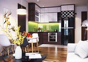 Apartment Interior Design Collection 01 model