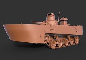 Type 2 Ka-Mi Pantons Clean 3D model