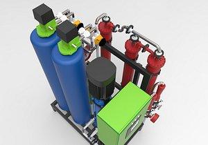 3D model osmosis pharmaceutical pharm