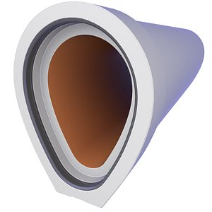 Concrete Sewer Pipe 20 3D