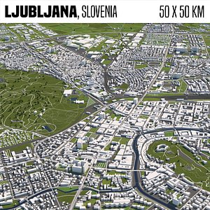 city buildings 3D model