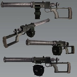 Assault rifle replica VSS Vintorez model