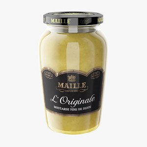 3D French Mustard