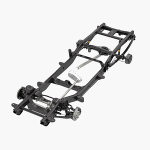pickup truck chassis model