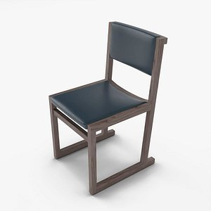 3D chair camerich emily model