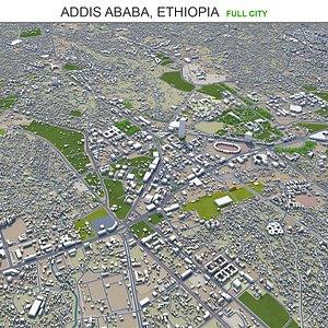 3D Addis Ababa Ethiopia