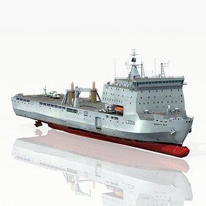 mounts bay l3008 ship 3D model