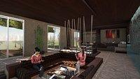 Revit studio apartment interior design