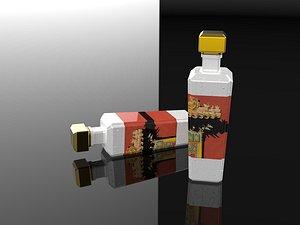 Wuliangye Moutai 3D model