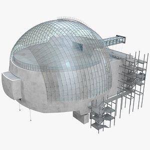 3D The Sphere Movie Theatre