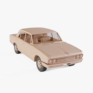 3D 1965-1973 Nissan President