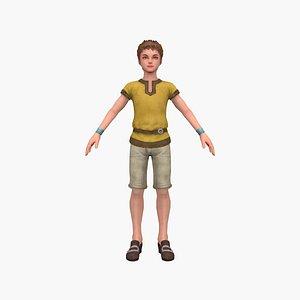 Town Boy 3D model